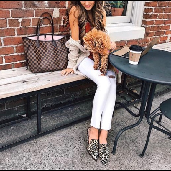 another chance where to buy arriving Sam Edelman Shoes | Augustine Leopard Print Loafer Mules | Poshmark